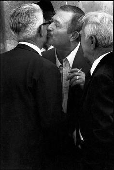 Antimafia: Letizia Battaglia et Franco Zecchin ~ Palermo 1978. The kiss. © Franco Zecchin