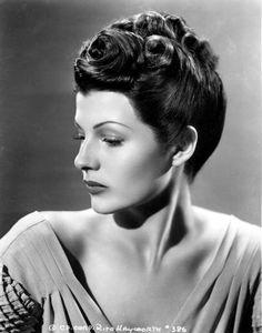 Rita Hayworth. Uploaded By  www.1stand2ndtimearound.etsy.com