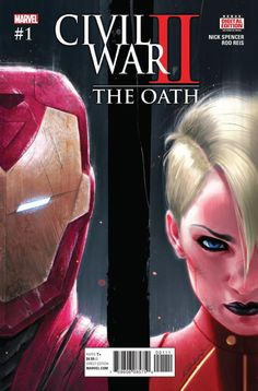 How Does Civil War II Set Up Secret Empire?  We've known for a few weeks now that Marvel is prepping a major new event comic called Secret Empire but with the release of Civil War II: The Oath #1 we finally have a better idea of what this new conflict will involve.  Warning: this article contains spoilers for Civil War II: The Oath #1!   Cap is sworn in as Director S.H.I.E.L.D. Art by Phil Noto. (Marvel Comics)  Much as 2007's Civil War: The Oath #1 featured a grieving Tony Stark visiting…