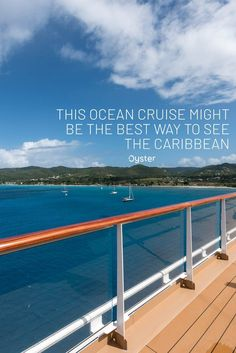 There is an argument to be made about why an ocean cruise is the best way to see the Caribbean. Read on for our thoughts. Cruise Travel, Cruise Vacation, Bioluminescent Bay, Famous Places In France, Floating Hotel, Cruise Pictures, How To Book A Cruise, Ocean Cruise, Us Sailing
