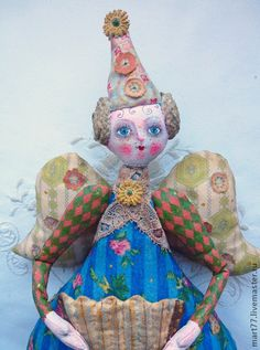 Collectible handmade dolls.  Fair Masters - handmade spring tune ...  Handmade.