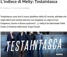 http://www.melty.it/l-indiece-di-melty-testaintasca-a129603.html  #testaintasca #maledizione #musica #rock #indie #42records #cazzituoi #roma #vintage #guitar #chitarre