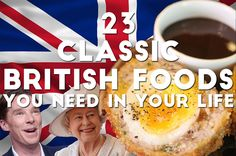 The nation of comfort foods. Whoever said Britain doesn't have good cuisine has obviously never read this list.