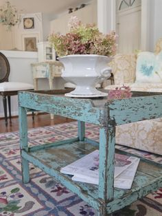 Chateau Chic: Mixing it Up in the Family Room