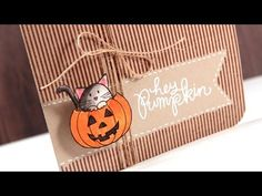 ▶ Color Wednesday #29 - SSS Hey Pumpkin & Distress Markers - YouTube
