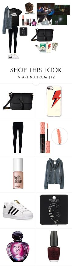 """""""Solitude"""" by jimena-herranz-torres ❤ liked on Polyvore featuring Foley + Corinna, Casetify, NIKE, Benefit, adidas, Topshop, OPI and MAC Cosmetics"""