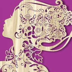 AMAZING Flower Lady Template. Buy this template, design, pattern. This work of art laser cut decor, are laser ready. Use it for interior design decor, stencils, invitations, wooden, paper, hardboard, kids toys, puzzles, scroll saw patterns, Download vector file PDF, AI, EPS, SVG, CDR x4. Use your favorite editing program to scale this vector to any size. You can add and remove elements or personalize the design. Our templates are all tested. Free designs every day. Pay with PayPal and other.