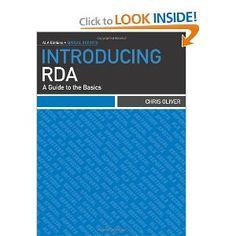 Introducing RDA: A Guide to the Basics (ALA Editions)