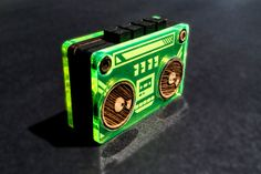 tiny boom box toy by Junichi Tsuneoka ©