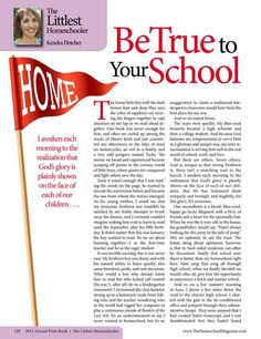 Be True to Your School - The Old Schoolhouse Magazine - 2013 Annual Print Book - Page 120-121