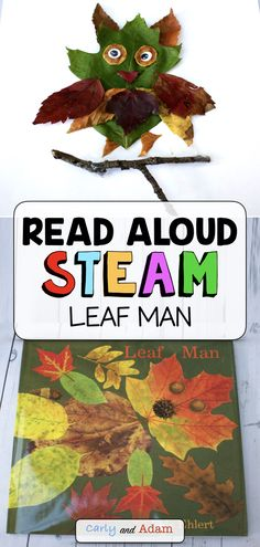 Fall Leaf STEAM Activity: In this Fall Leaf Man STEM challenge, students design their very own leaf animal! An excellent companion activity to the fall read aloud book Leaf Man by Lois Elhert. Journey outside this fall and collect some leaves! Steam Activities, Autumn Activities, Science Activities, Autumn Leaves Craft, Fall Leaves, Kindergarten Stem, Leaf Book, Leaf Animals, Leaf Man