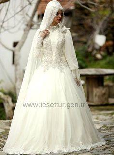 Osmanlı Tesettür Gelinlik Modelleri Model:55 - http://www.tesettur.gen.tr/galeri/296-55-osmanli-tesettur-gelinlik-modelleri.html