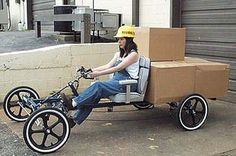 2-Person Cycle Car 4W2P Long Frame
