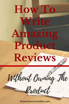 Product reviews are the primary income stream for most (niche) websites. But how do you write amazing product reviews without owning the product? My guide shows you the do's and don'ts and how you can be of service to your readers. Ways To Earn Money, Earn Money From Home, Make Money Online, How To Make Money, Income Streams, Affiliate Marketing, Stuff To Do, Success, Writing
