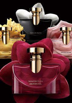 Bvlgari Splendida Magnolia Sensuel ~ New Fragrances Perfume Scents, Perfume And Cologne, Best Perfume, New Fragrances, Perfume Bottles, Perfume Lady Million, Perfume Glamour, Perfume Versace, Perfume Collection
