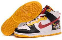 Nike Dunk High Roberto Clemente Black White Yellow