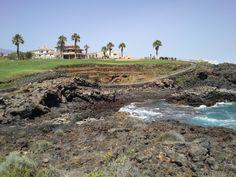 A golf A rock