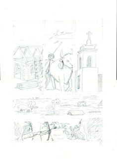 """Comic: """"VeraCruz"""" de la Saga """"Historias de Nuevos Mundos"""" Historias sobre la America colonial, en este caso Fundación de Santa Fe y Juan de Garay"""