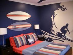 Love it!-surfer on the wall