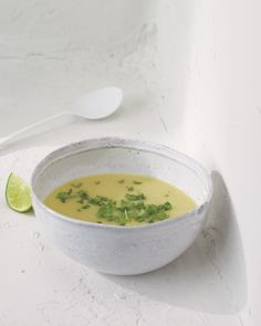 Creamy Summer Squash Soup - Whole Living Eat Well