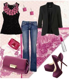 """""""Love Pink"""" by susy-adame on Polyvore"""