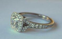 antique cushion cut diamond - Google Search