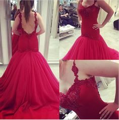 prom dresses,evening gowns,red prom gowns,backless 2017 evening dress