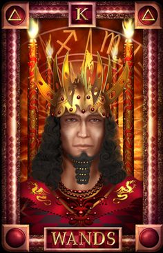 - Tarot of Dreams - King of Wands