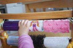 Domowy plac zabaw- rolki po papierze toaletowym  Home Children's amusing toilet paper rolls