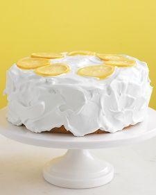 Lemon Cake Recipe (Martha Stewart)