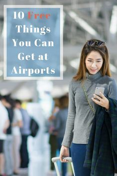 These not-so-obvious airport extras are offered to travelers free of charge. Really!