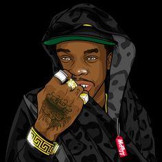 Graphic design, fashion, music, and art by McFlyy. Vector Characters, Funny Shirts For Men, Hip Hop Art, Dope Art, Mockup, Supreme, Studios, Cartoons, Princess Zelda
