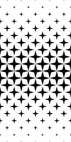 Seamless monochrome geometric pattern #BestDesignResources Star Patterns, Graphic Patterns, Textures Patterns, Fabric Patterns, White Patterns, Monochrome Pattern, Black Pattern, Geometric Sleeve, Trash Polka
