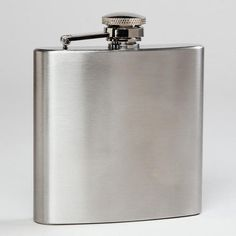 One of my favorite discoveries at WorldMarket.com: Stainless Steel Flask