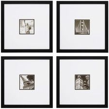 'Photoscape 1 , 2 , 3 , and 4' 4 Piece Framed Photographic Print Set