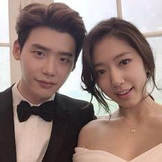 Lee jong suk & Park shin he