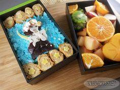 Bento Nouveau by oliko on DeviantArt Alphonse Mucha, Bento Box, Cute Food, Food Art, Acai Bowl, Birthday Gifts, Deviantart, Awesome Stuff, Cooking