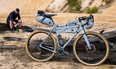 Fans of ultralight bikepacking, Ass Savers shares gravel bike tour inspiration from Torino-Nice with a special limited edition Detour collection of fenders. Bikepacking Bags, Wooden Bicycle, Off Road Adventure, Bike Bag, Touring Bike, Bicycle Design, Vintage Bicycles, Saddle Bags, Take That