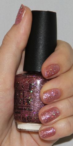 OPI Katy Perry Collection Teenage Dream Swatch