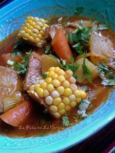 Caldo de Puerco (Pork and Vegetable Soup)~Recado Recipes