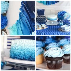 Hostess with the Mostess® - Blue Ombre Party