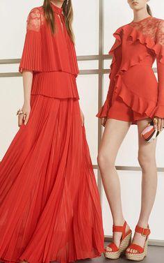 Long Sleeve Romper by ELIE SAAB for Preorder on Moda Operandi