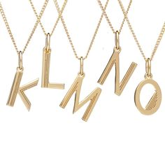 Browse Art Deco Initial Necklace Gold (Letter N) and more from Rachel Jackson London at Wolf & Badger - the leading destination for independent designer fashion, jewellery and homewares. Diamond Initial Necklace, Diamond Choker, Diamond Solitaire Necklace, Gold Choker Necklace, Crystal Choker, Letter Necklace, Initial Necklaces, Alphabet, Art Deco