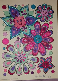 A Page From Good Vibes Coloring Book By Thaneeya McArdle