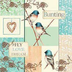 Decoupage Images: Birds