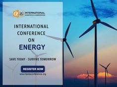 Energy is future, make it bright. Join #InternationalConference on #Energy. www.texilaconference.org #Education #Research