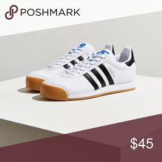 1f55001b0af9a7 adidas Gum Sole White   Black Samoa Sneakers Bought at UO