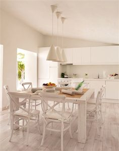 Kitchen and lamps by Ikea