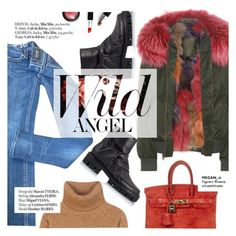 """""""Wild angel"""" by punnky ❤ liked on Polyvore featuring Mr & Mrs Italy, Miss Me, Yves Saint Laurent, Hermès and Haute Hippie"""