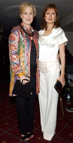 With Susan Sarandon